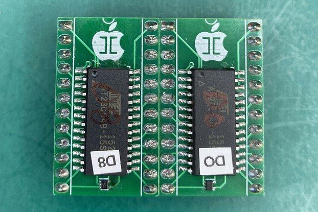 D0 & D8 ROM Set- New Design Apple II / II+