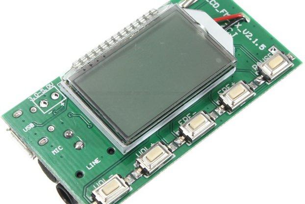 DSP PLL FM Transmitter Module - USB/Aux-In - 100mW