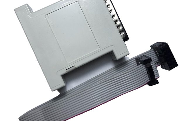 Actel CPLD FPGA JTAG parallel port download line