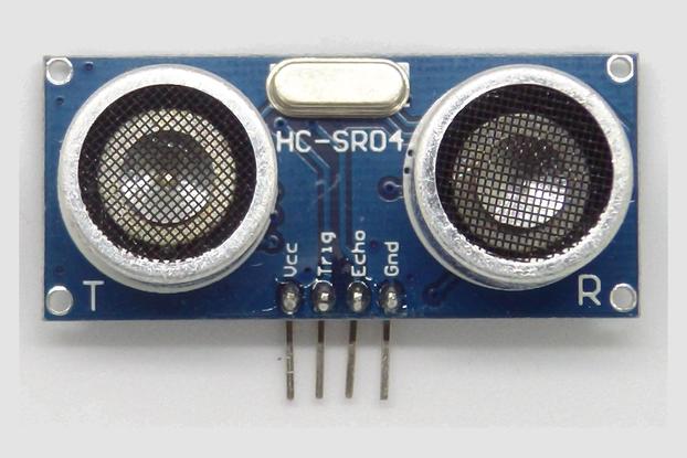 HC-SR04/HC-SR04P Ultrasonic Sensors - 4 pack