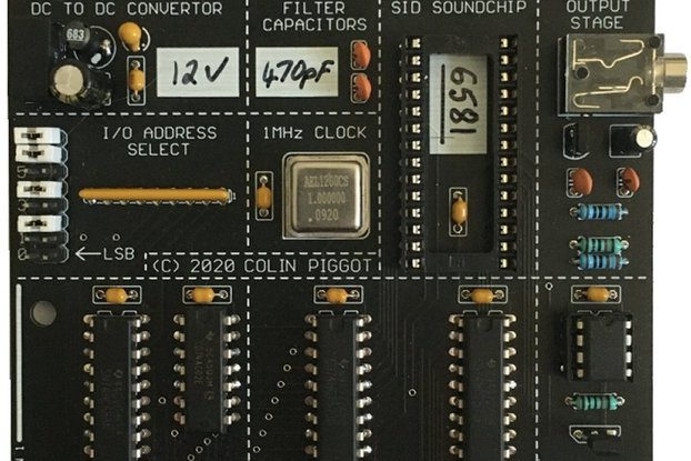 SID Soundchip Interface, designed for the RC2014