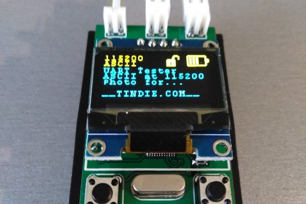RS485 / UART tester (portable serial terminal).