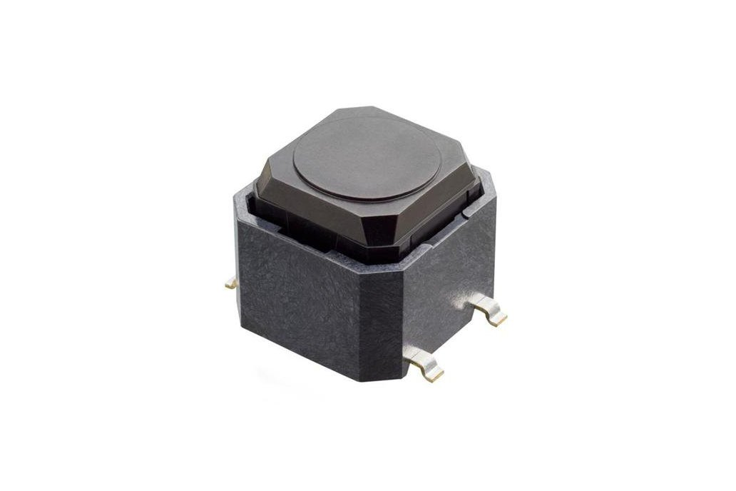 Surface Mount Tact Switch, Quantity 10 1