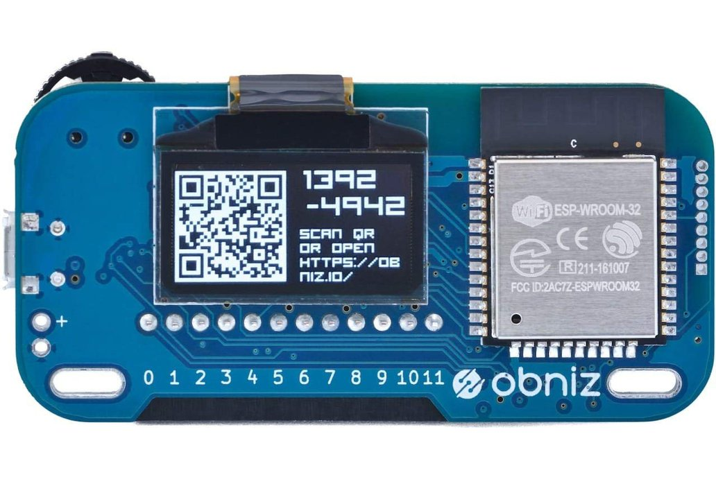 Obniz - cloud connected IoT development board 1
