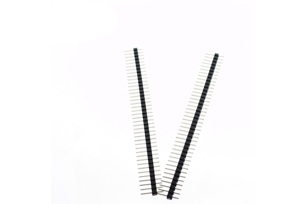 20pcs 40 Pin Single Row Male 2