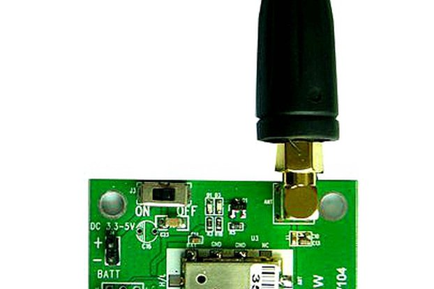 FRS_DEMO_A  demo board (for 1W350 UHF  module)