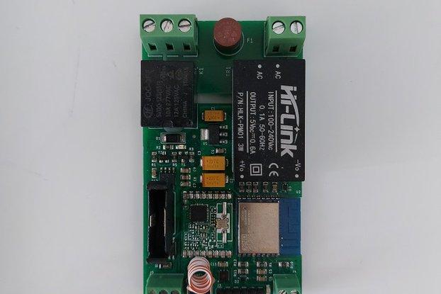 WiRela01-basic: Smart WiFi Relay Actuator
