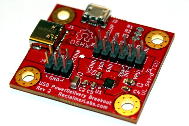 USB Type-C Power Delivery PHY Breakout Board