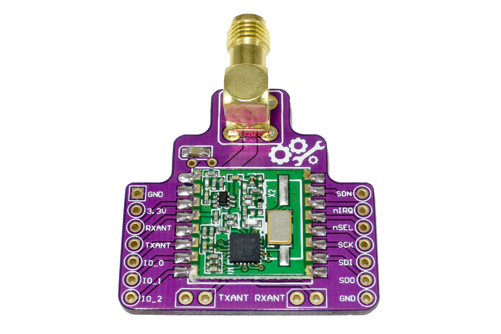 RFM22B Wireless Breakout Board - 800m+ Range 1