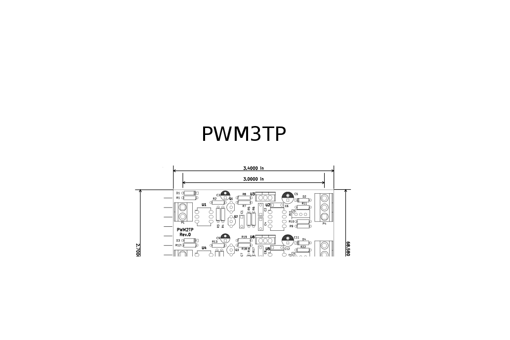 Isolated 3 channel PWM to Analog Converter 6