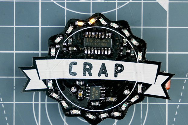 Crap Badge Kit