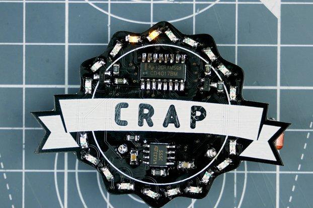 Crap Badge Kit