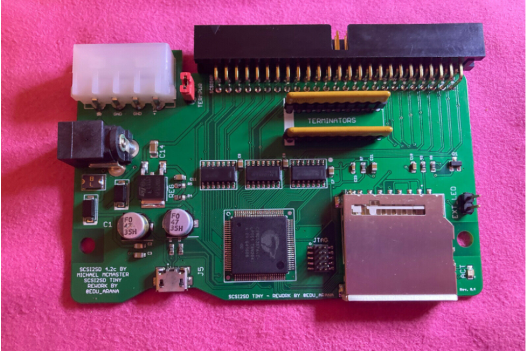 SCSI2SD - Solid State SCSI Drive For Samplers 1