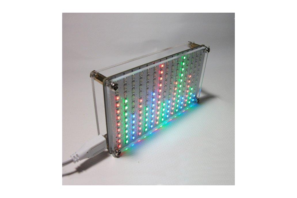 LED Flashing Music Spectrum & DIY Amp Speaker Kit 2