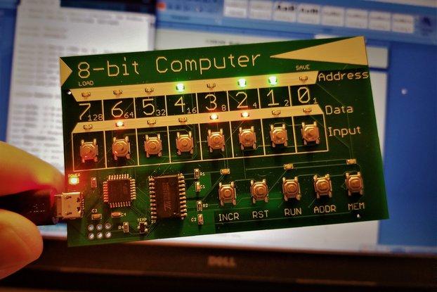 8-bit Microprocessor Trainer