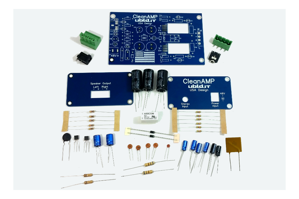 CleanAmp 2 Stereo Amplifier Kit 2