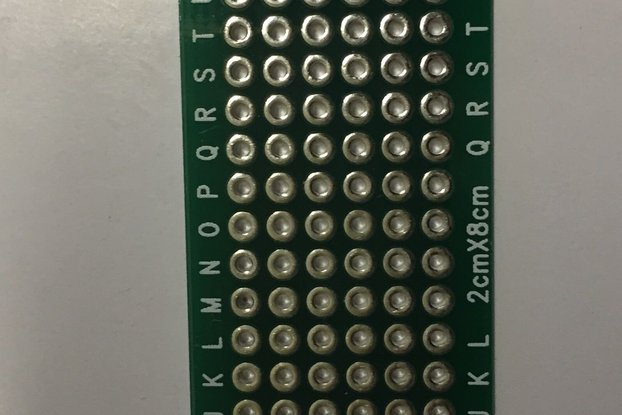 Double-sided prototyping board - 20x80mm