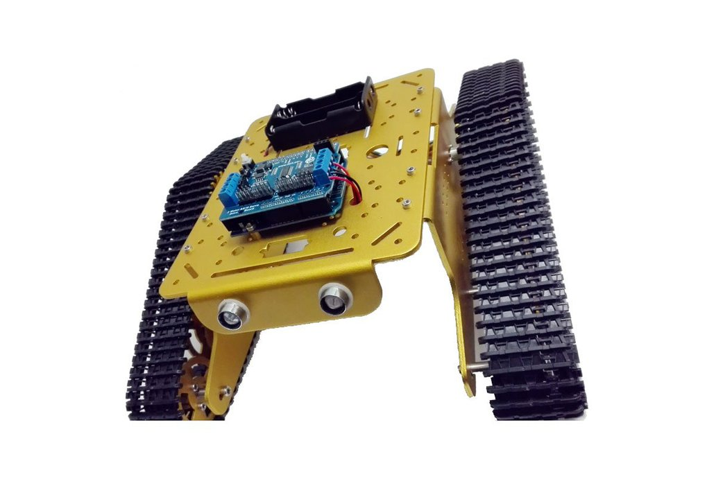 Wireless WiFi metal tank car chassis with arduino 2