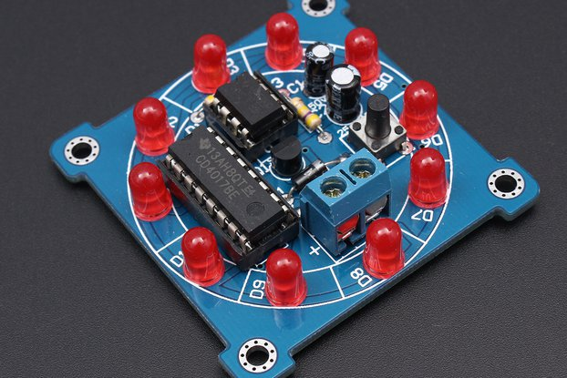 Electronic Lucky Rotary Suite DIY Kit(4147)
