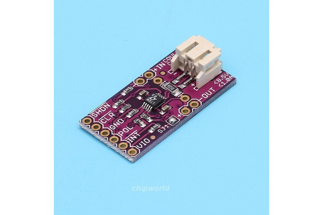 Battery Fuel gauge meter Coulomb Counter arduino 1