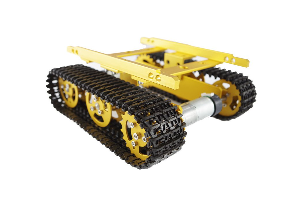 Metal Tank Chassis T100 3