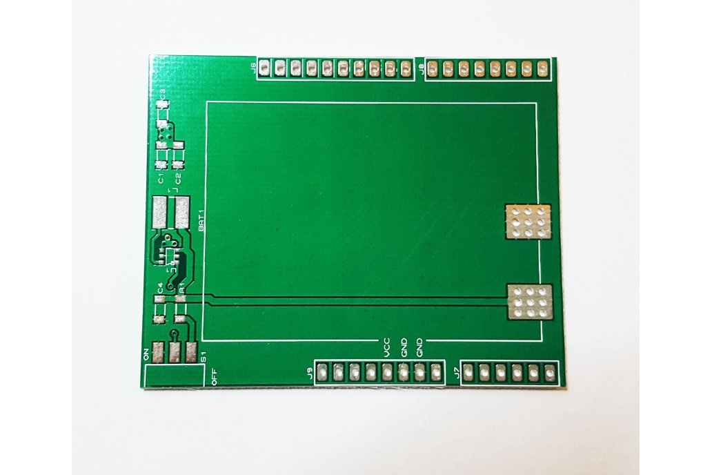Battery Shield Bare Board for Arduino Uno with BOM 1
