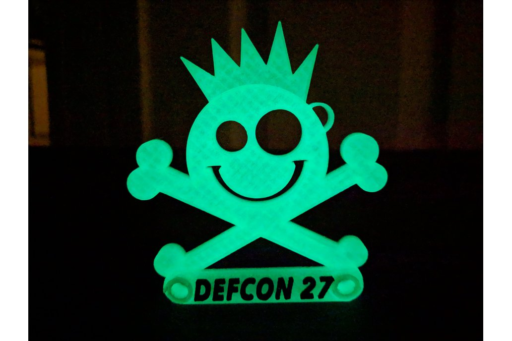 New Jack Badge- Standard Printed  - Defcon 27 1