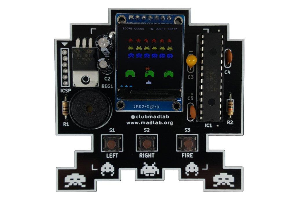 Space Invaders Inspired Soldering Kit 1