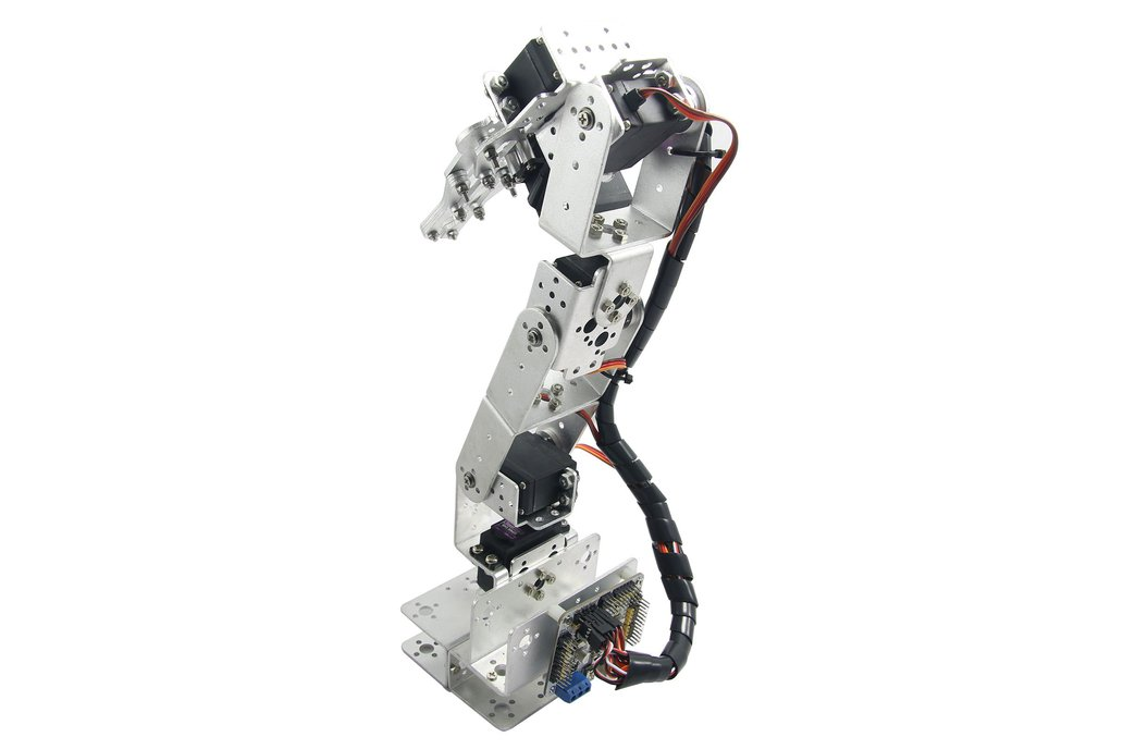6 DOF Robot Arm Clamp Mount Kit 1