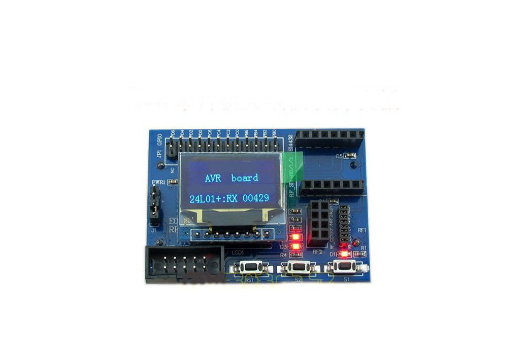 AVR development board for wireless modules 1