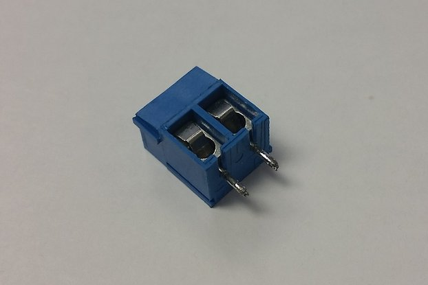 5MM Terminal Block Vertical 2-POS PCB (Sets of 10)
