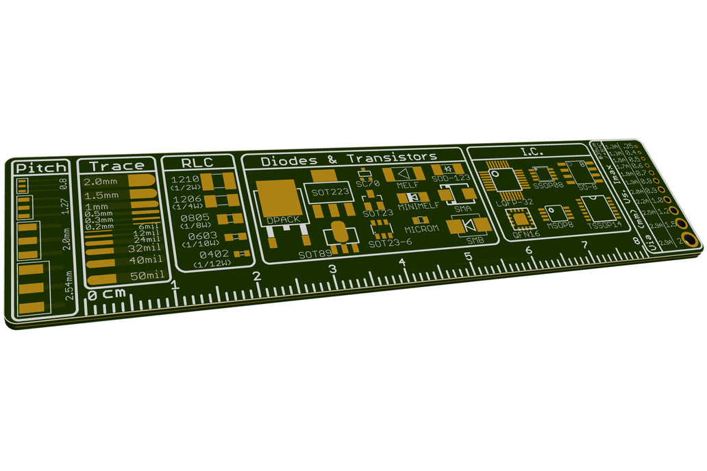 The Ultimate PCB ruler 3
