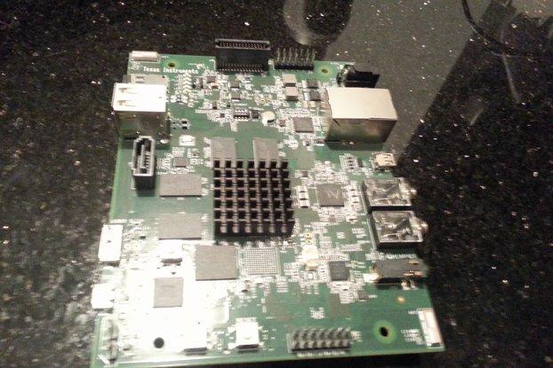TI OMAP5432 - 1.5GHz Dual A15 ARMCore Dev Board