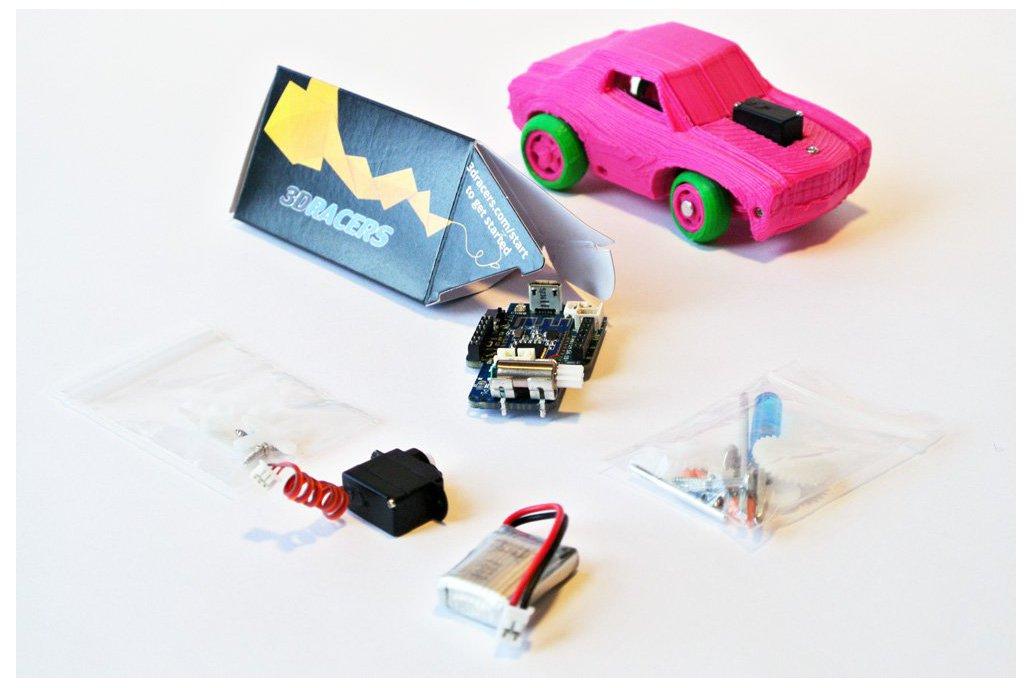 3DRacers - 3D Printed RC Car Kit - BLE + Arduino 1