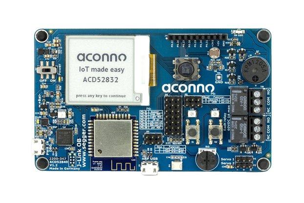 IoT Dev. Board 52832: Bluetooth smart, Sensorik