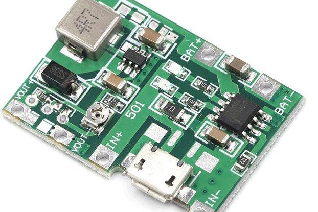 UPS battery cell Lith boost out 5V-27V adjustable