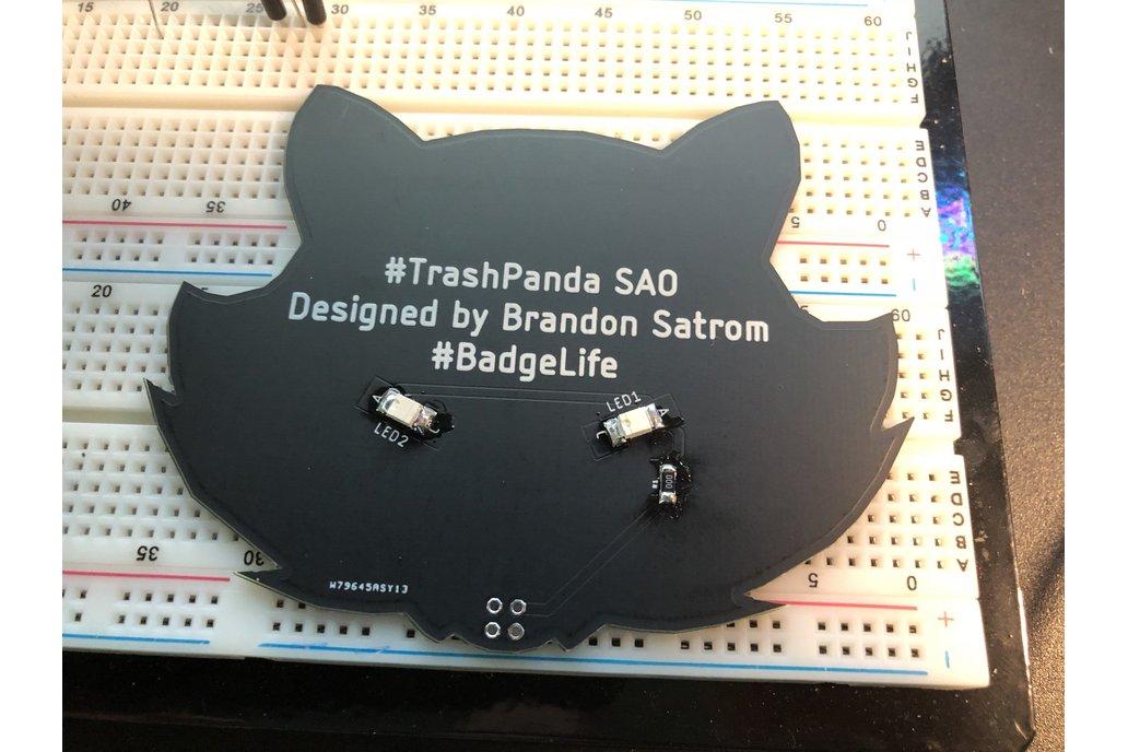 #Badgelife Trash Panda - SAO Badge 3