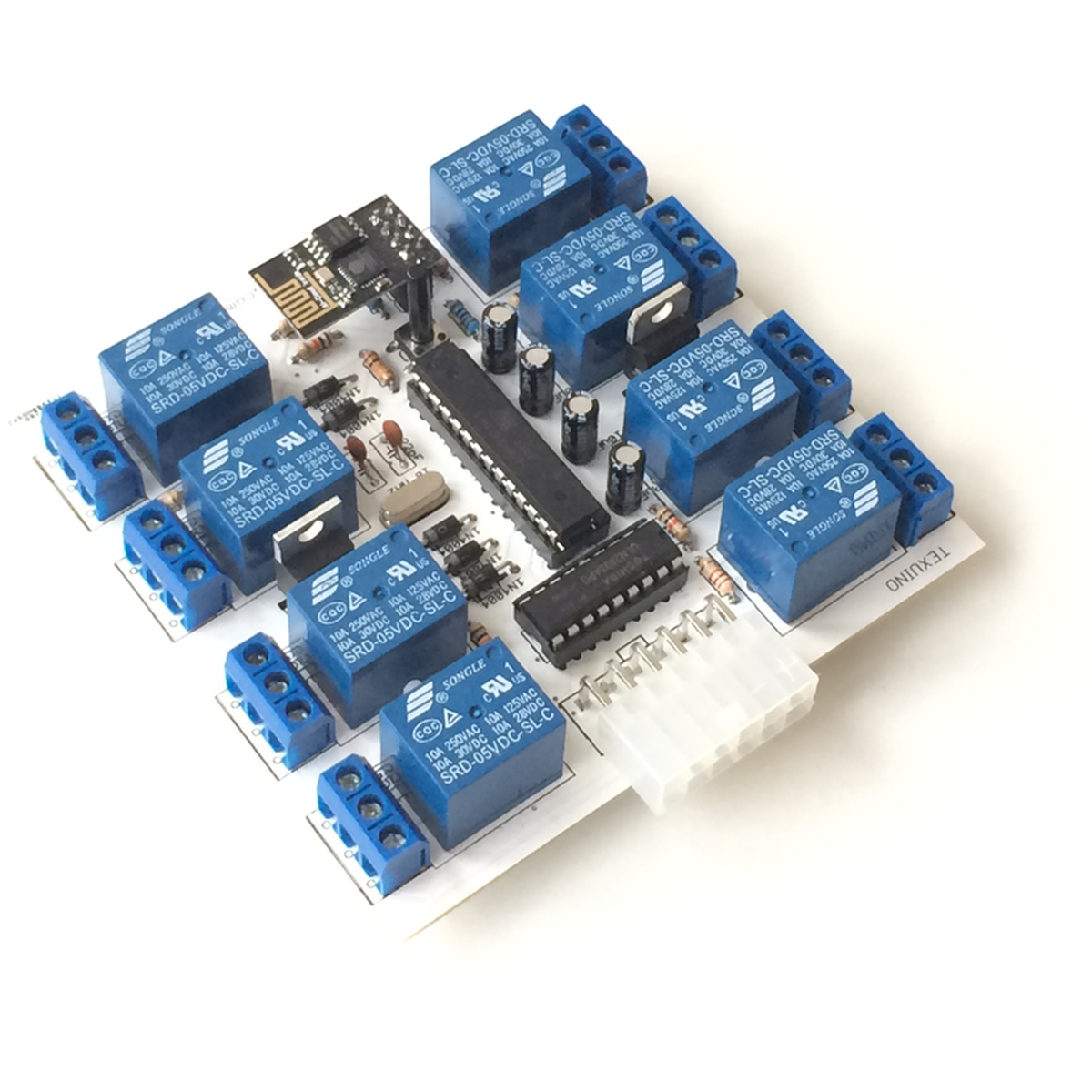 Wi-Fi Relay Board  8 Relays/10 Inputs  Android app from Geekchic on