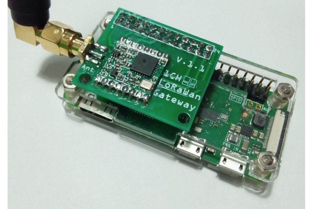 1 Channel LoRaWan Gateway Shield for Raspberry Pi 2