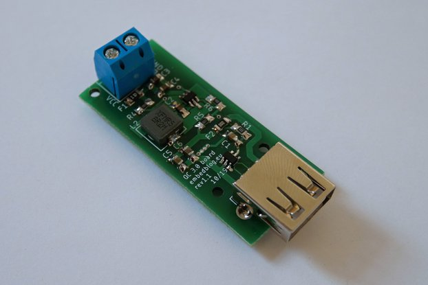 Quick Charge QC 3.0 buck converter board