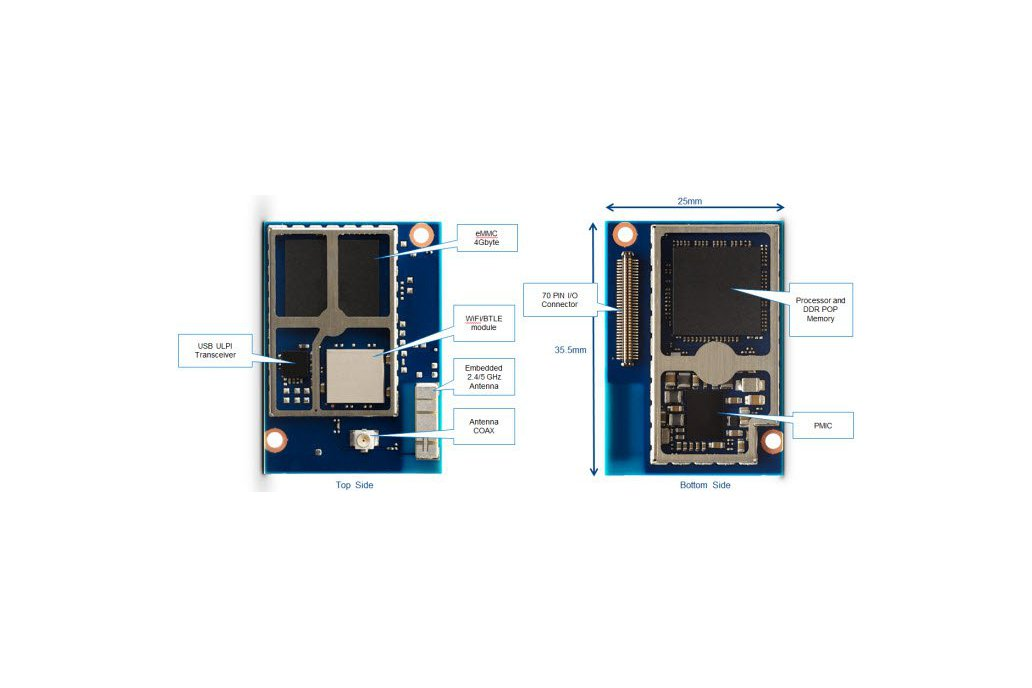 Intel Edison System-On-Modules IoT with antenna 3