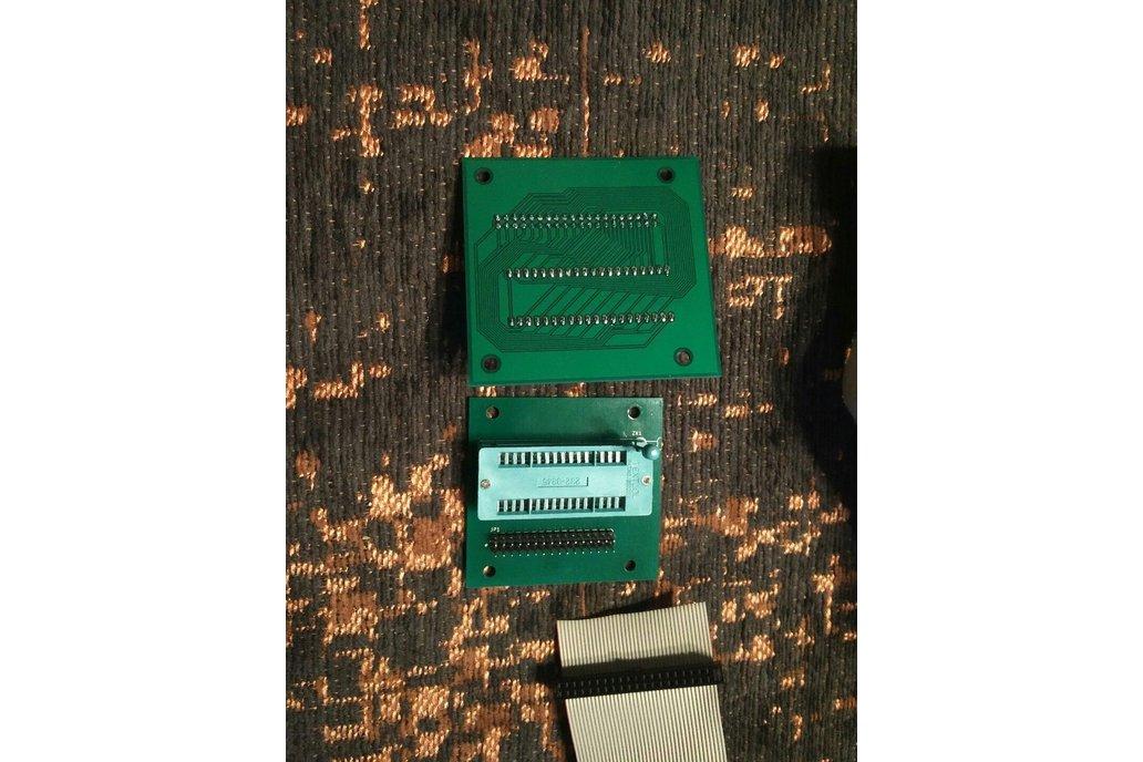28/32/40-Pin DIP Socket-to-Header Adapter 2