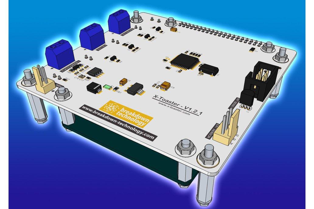 X-toaster | Toaster Oven Reflow Controller - KIT 4