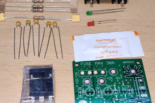 Crowbar Protection for Ham Transceivers Kit