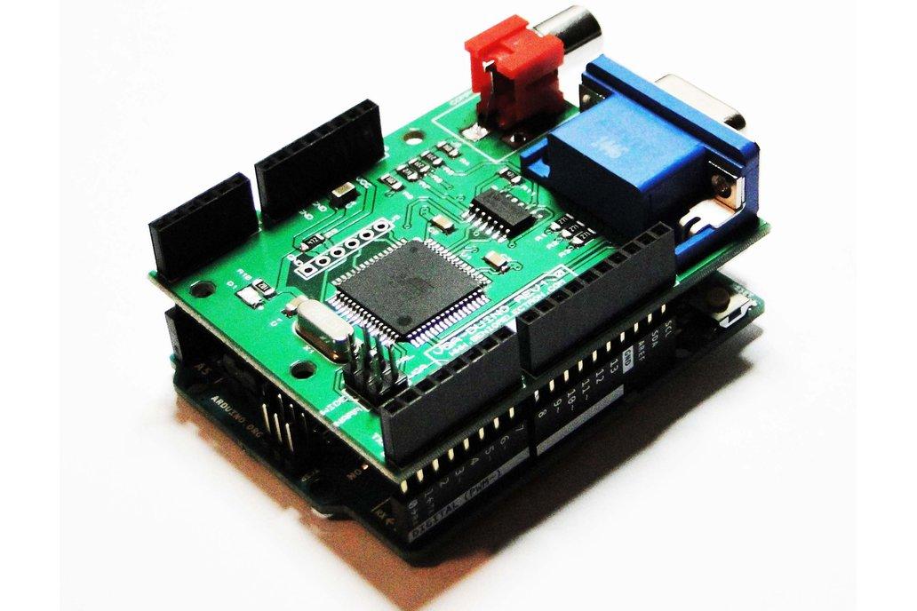 VGA DUINO - VGA Graphic Shield for Arduino 4