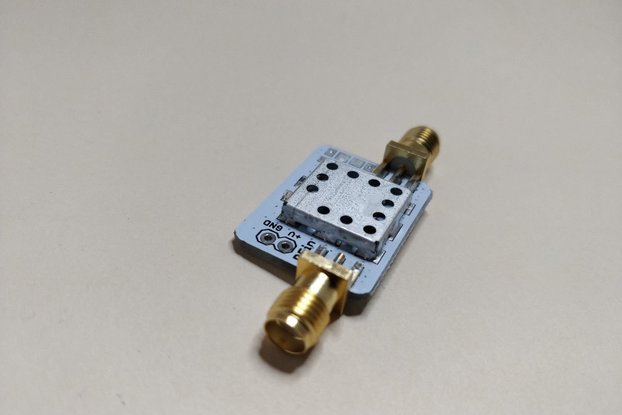 Low Noise Inline Amplifier 2GHz w Bias Tee