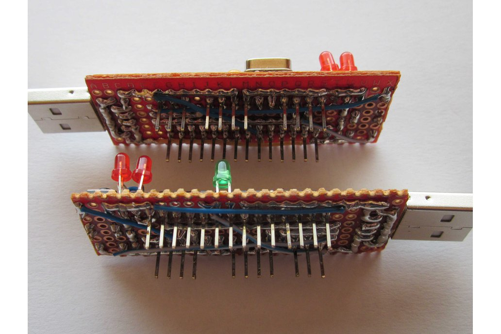 tinyUSBboard - Rev. 3 THT kit 2