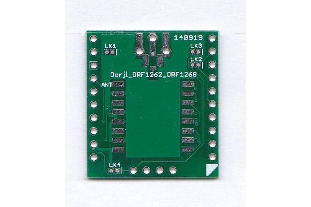 Breadboard Friendly Dorji SX1262 SX1268 Board 1