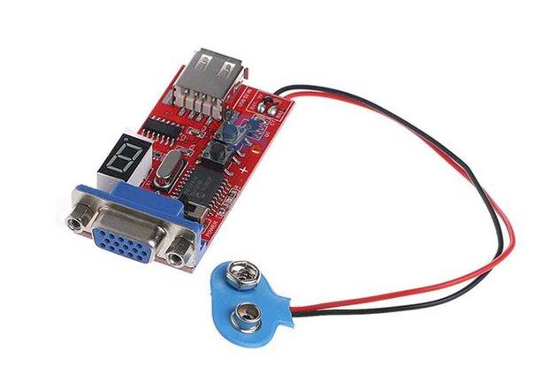 USB VGA Signal Generator LCD Tester