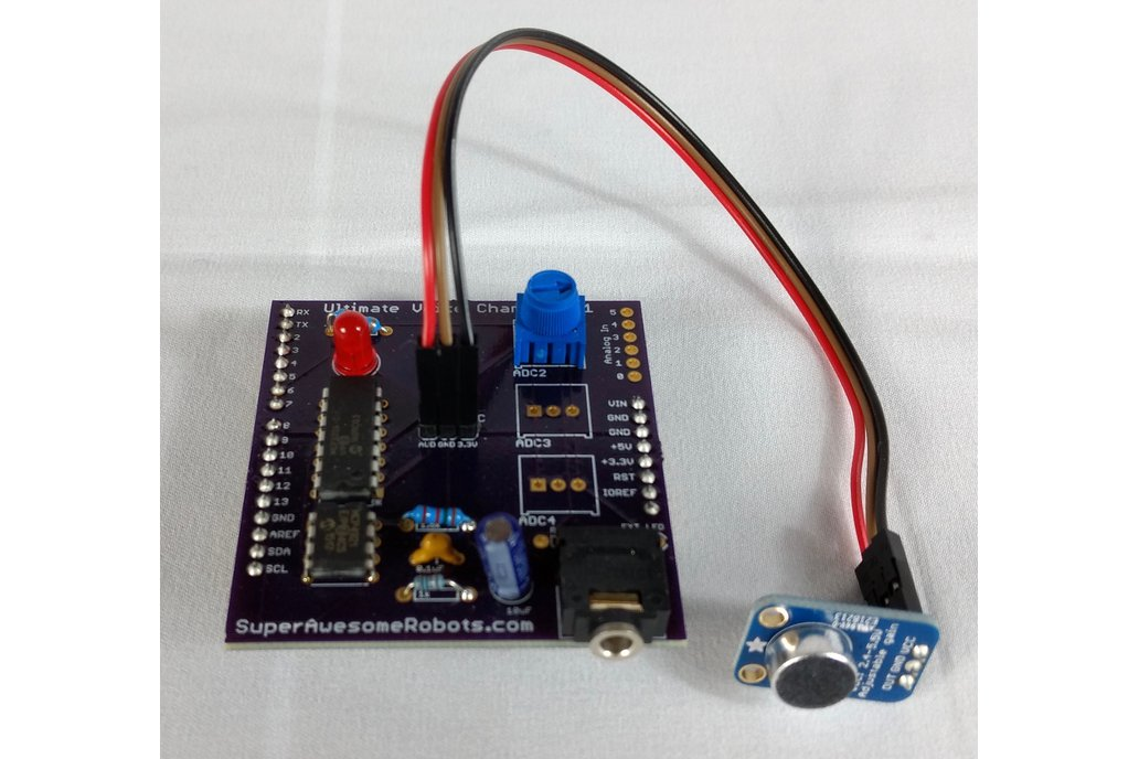 Ultimate Voice Changer Arduino Shield 1